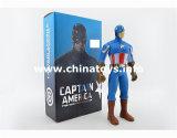 最も新しいギフトのセットされる柔らかいプラスチックおもちゃのスーパーマンの人形(964727)