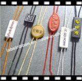 Tag plásticos do selo da corda do logotipo da marca (ST058)