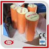 El betún auto-adhesivo impermeabiliza la cinta