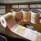 Toalla de papel modificada para requisitos particulares surtidor impresa de tejido de cuarto de baño del rodillo de tocador