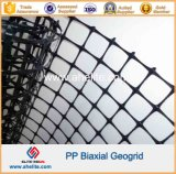 Plástico PP Biaxial Geogrids 30X30kn / M