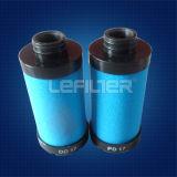 La eficiencia del compresor de aire Atlas Copco Filtro de precisión PD60 QD60 DD60 1617704007 2901053200