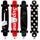 9ply Canadian Wood Maple Dance Lon Board, 46 inch Four Wheels Skateboard