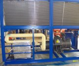 80HP 200kw Hanbell 압축기 격판덮개 열 교환 공기에 의하여 냉각되는 나사 물 냉각장치