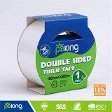 Excelente rendimiento a base de solvente Blanca caras dobles de la cinta de tejido