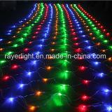 Яркие рождественские украшения сад светодиодный индикатор сетки для дерева и оформлены на лужайке