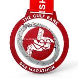 Medaglia su ordinazione di sport della stazione di finitura di maratona del metallo