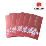 Eco-Friendly бумажный дешевый красный габарит для сбывания