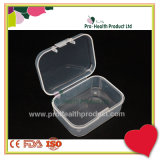 contenitore medico libero di recipiente di plastica di 5.5cm x di 4cm x di 2cm