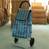 Funky Smart Light Foldable Multifunctional Hard Wearing Galvanized Shopping Trolley