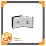 SH50 135b亜鉛合金のガラスコネクター、シャワーのドアのガラス区分の波カッコ