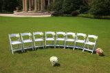 Résine blanche chaise pliante L-1