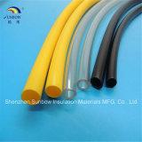 PVC elétrico Polyvinyl plástico Tubings da proteção do fio para o revestimento do fio de Coaxia