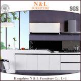 Module de cuisine en bois de forces de défense principale de couleur blanche à la maison moderne de meubles