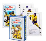 Cartões de jogo do póquer de Fairplay Respekt
