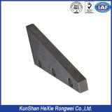 Placa de metal de fabricação personalizada de alta precisão