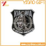 Het Etiket van /Woven van de Bodem van het Flard/van de Doek van het Borduurwerk van het Embleem van de douane van China
