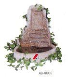 Fontaine Polished blanche pure de granit de série de jardin