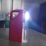 Lanterna di campeggio ricaricabile solare portatile del LED con la torcia