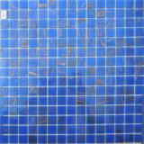 Mosaico di vetro blu-chiaro