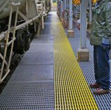 Reja de FRP/GRP, fibra de vidrio 40*40m m que rallan, el panel de 1220X3660m m, hoja de la fibra de vidrio