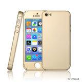 Полное покрытие крышки 360 мобильного телефона Китая низкой цены с iPhone 5s аргументы за протектора экрана Tempered стекла