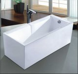 vasca da bagno moderna indipendente di rettangolo di 1600mm (AT-6705)