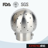 Bola de limpeza fixa roscada fêmea de aço inoxidável (JN-CB1002)