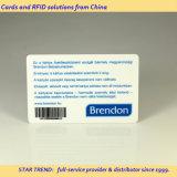 O código 39 Cartão de PVC com código de barras exclusivo para a promoção