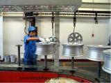 オーバーヘッドConveyorised粉の吹き付け塗装かコーティングの生産ライン