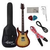 Fornecedor do certificado de BV/SGS---Guitarra elétrica dos fotorreceptores do céu do outono da parte superior do arco de Aiersi