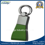 Förderung PU ledernes Keychain mit kundenspezifischem Firmenzeichen