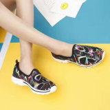La plus défunte lumière de Slip-on de femmes de mode folâtre les chaussures occasionnelles en gros (MB7088)