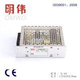Alimentazione elettrica costante di commutazione di tensione di S-40 SMPS 40W 5V 8A