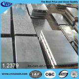 1.2379 / D2 / SKD11 / Cr12Mo1V1 Molde de trabalho a frio Prata de aço