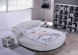 現代および優雅な円形のベッドの円形のベッドフレーム6820