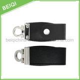 Привод вспышки USB выдвиженческого подарка верхнего качества дешевый с кожаный случаем