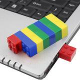 palillo de la memoria del mecanismo impulsor del flash del USB de los ladrillos del juguete 8GB