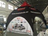 Изготовленный на заказ шатер сени Gazebo шатра купола сторон печатание 5 с сводом
