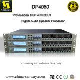 Procesador audio profesional de Digitaces de la gerencia del altavoz Dp4080