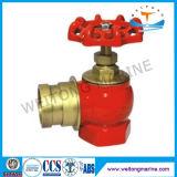 Brons/Messing Van een flens voorzien Brandkraan voor Marine