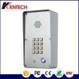 El control de acceso Teléfono intercomunicador Knzd-43 Antivandálica Doorphone