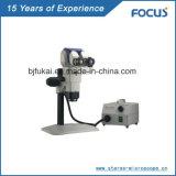 Lente de zoom estereofónica ajustável do microscópio