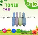 Tn610 para o cartucho de toner copiadora a cores da Konica Minolta Bizhub C6500