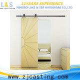 Matériel en bois de bonne qualité de porte coulissante (LS-SDU-8005)