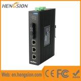 3 Tx e interruptor de red industrial del acceso del Megabit de 2 Fx