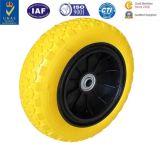 Rotella solida del rivestimento dell'uretano della rotella dell'uretano del pneumatico dell'unità di elaborazione del pneumatico solido del poliuretano