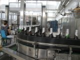 Автоматическая машина для наполнения стеклянных бутылок водки и виски