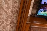 호텔 가구 텔레비젼 대 조각품 MDF 유럽 전기 벽난로 (326B)