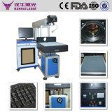 Máquina de la marca del laser de la fibra del contador y no del metal